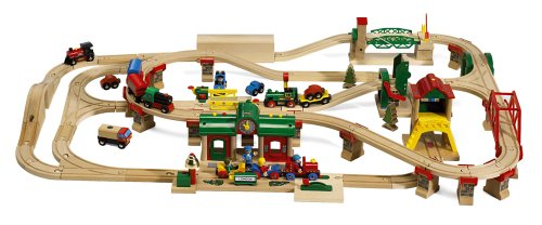 33069 Wooden Railway System: Light & Sound City Action Set