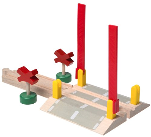 33388 Wooden Railway System: Railway Crossing