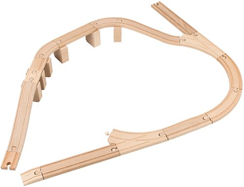 33403 Wooden Railway System: Advanced Expansion Set