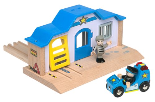 33590 Wooden Railway System: Police Station