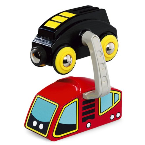 33930 Wooden Road & Railway System: Sky Train Battery Operated Car