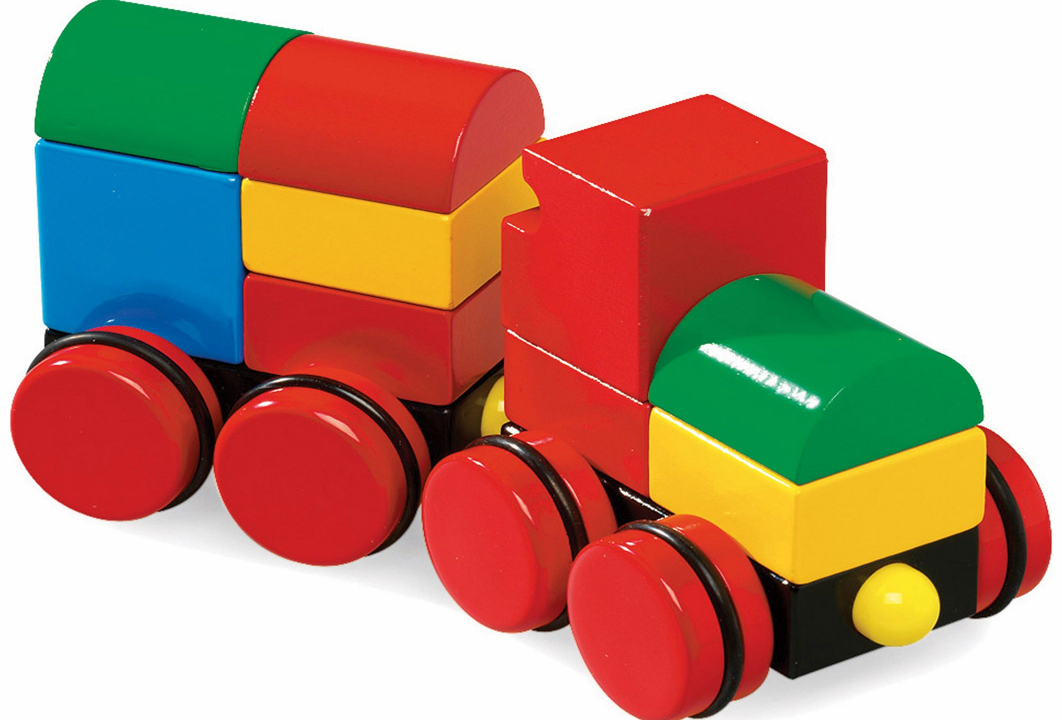 Magnetic Stacking Train