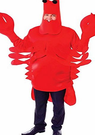 Bristol Novelties Adult Costume: Lobster