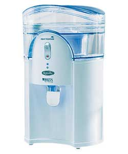 Aqua Fountain Water Filter Chiller - White