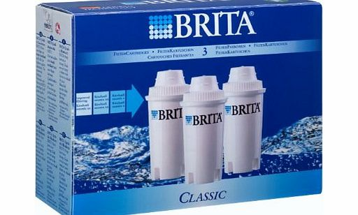 BRITA Classic Filter Cartridges 3 Pack