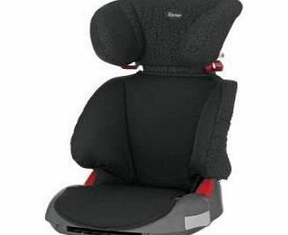 Adventure Group 2/3 4 - 12 Years High-Backed Booster Car Seat (Black Thunder)