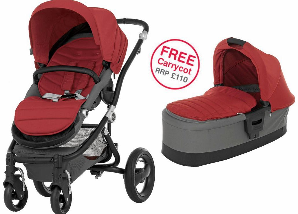 Affinity Black Stroller Chilli Pepper 2014