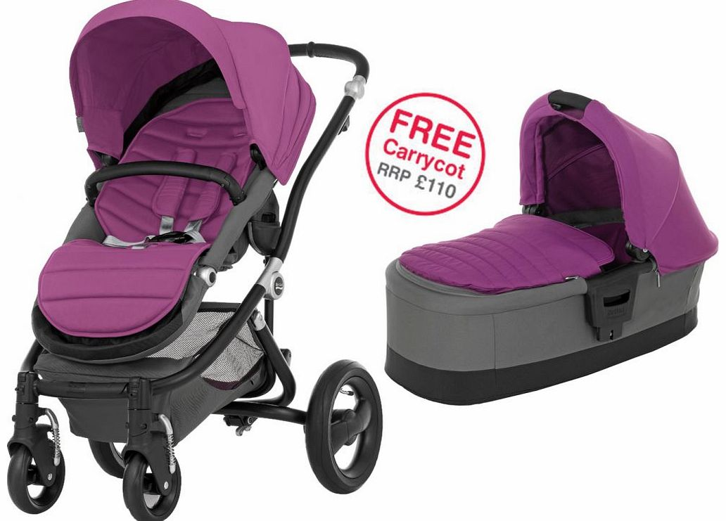 Affinity Black Stroller Cool Berry 2014