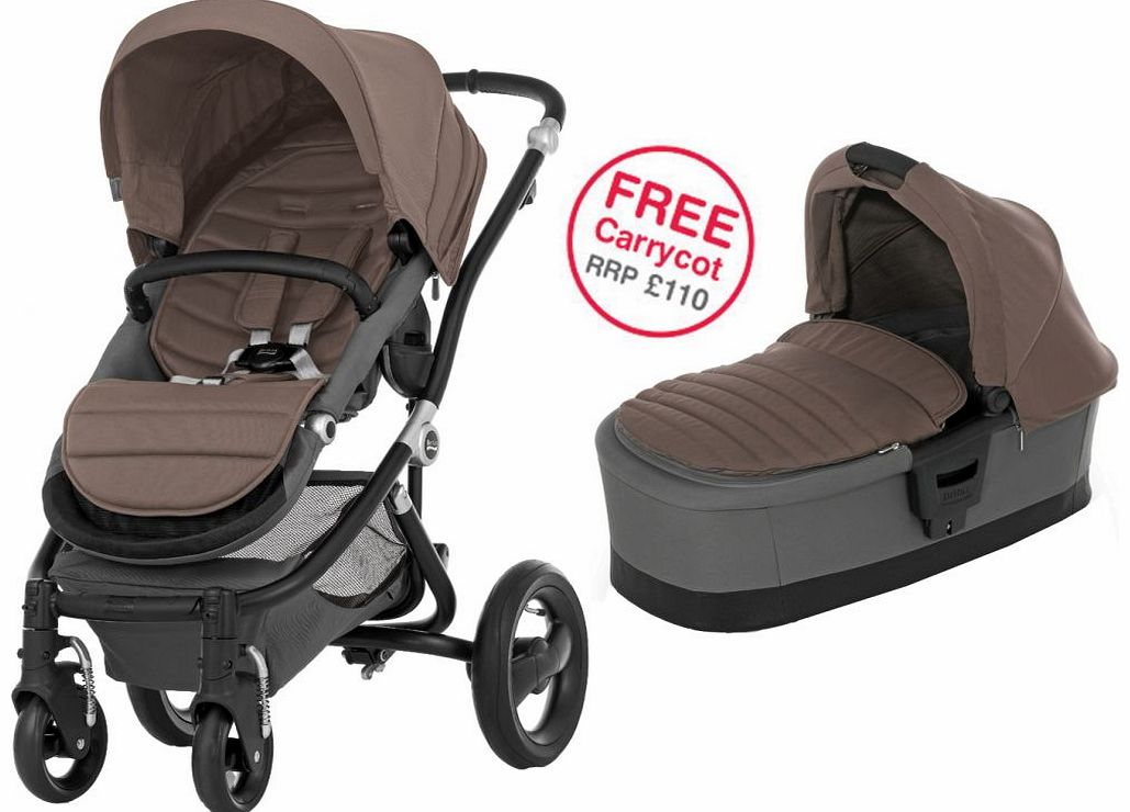 Affinity Black Stroller Fossil Brown 2014