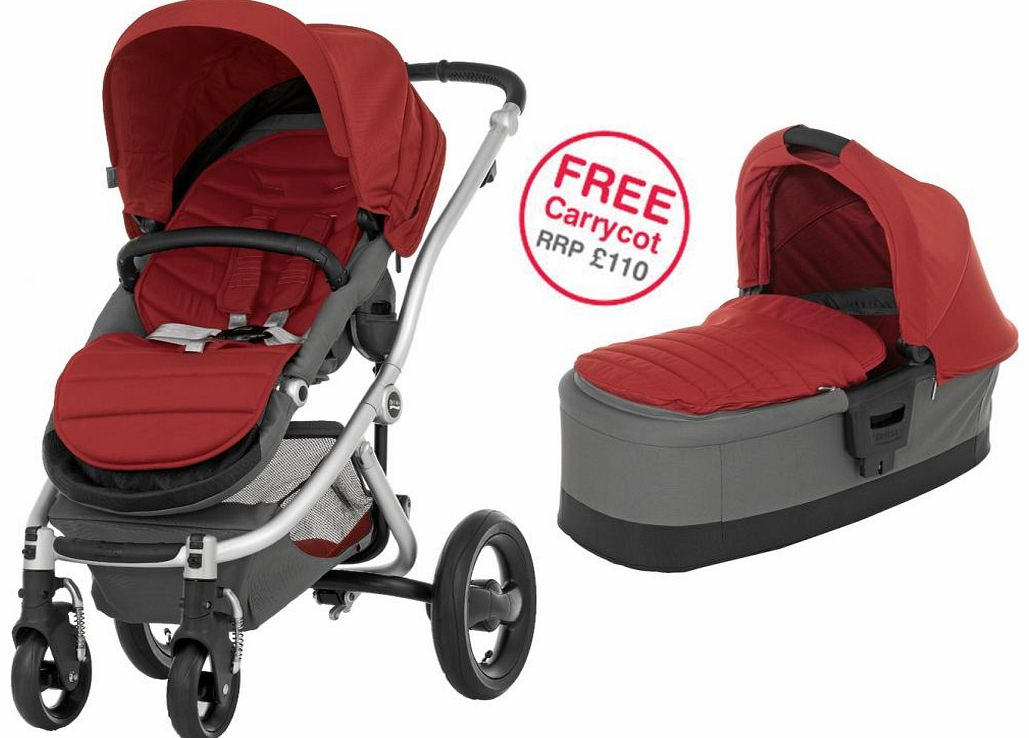 Affinity Silver Stroller Chilli Pepper 2014