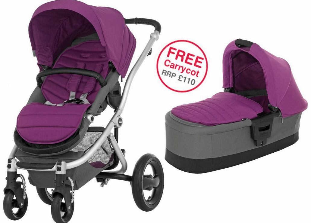 Affinity Silver Stroller Cool Berry 2014