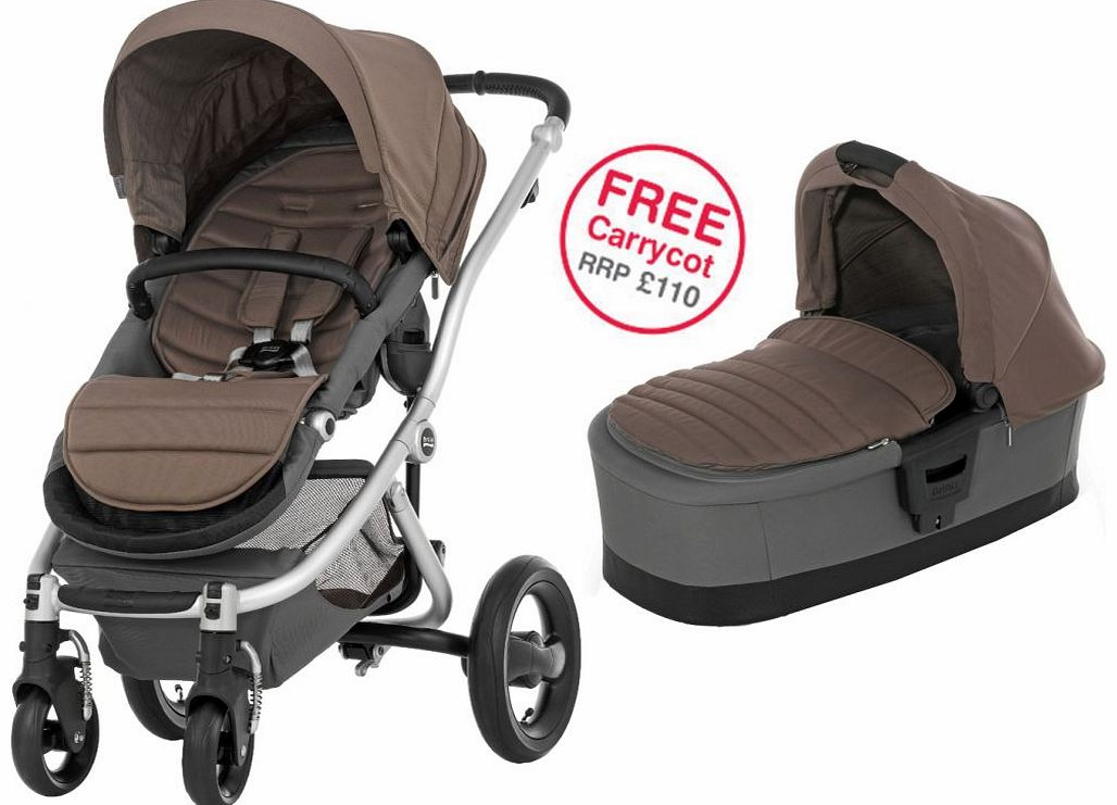 Affinity Silver Stroller Fossil Brown 2014
