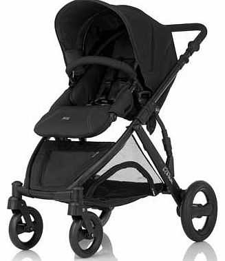 B-Dual Pushchair - Black Thunder
