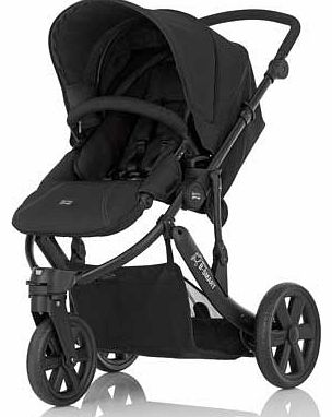 B-Smart 3 Black Thunder Pushchair