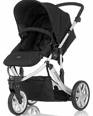 B-Smart 3 Neon Black Pushchair