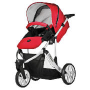 B Smart 3 Pushchair, Venetian Red