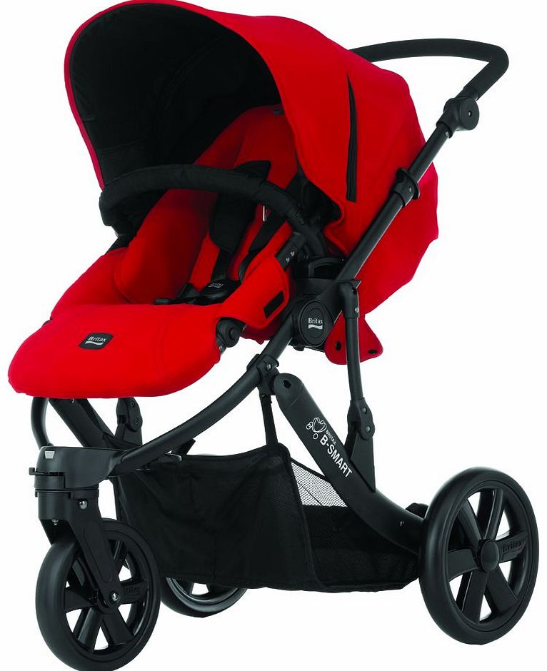 B Smart 3 Stroller Chilli Pepper 2014