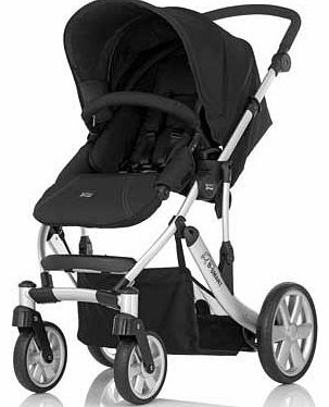 B-Smart 4 Neon Black Pushchair
