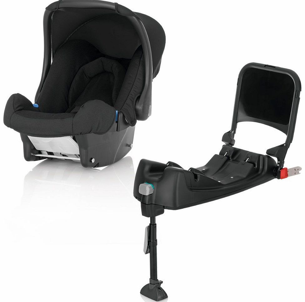 Baby-Safe With Isofix Base Black Thunder