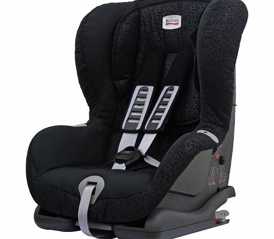 Duo Plus Group 1 9 Months - 4 Years ISOFIX Forward Facing Car Seat (Black Thunder)
