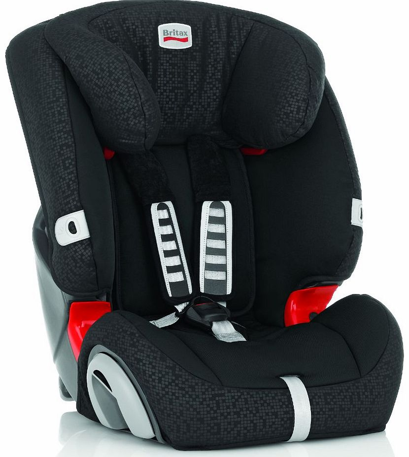 Evolva 1-2-3 Car Seat Black Thunder 2014