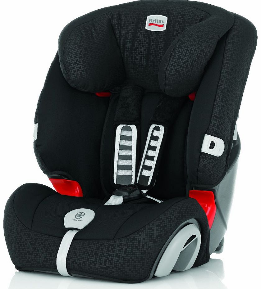 Evolva 1-2-3 Plus Car Seat Black Thunder