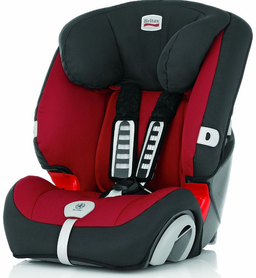 Evolva 1-2-3 Plus Car Seat Chili Pepper