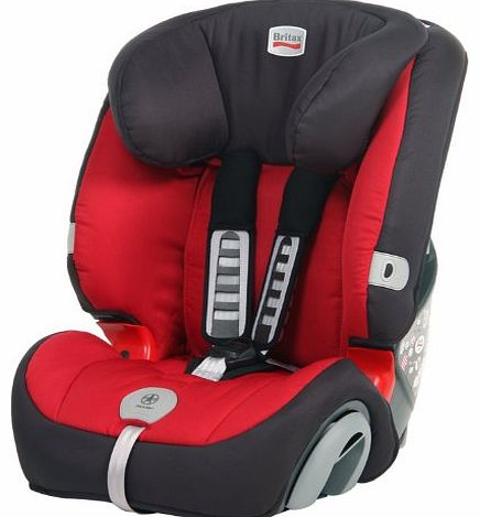 Evolva Group 1-2-3 Plus Car Seat - Chilli
