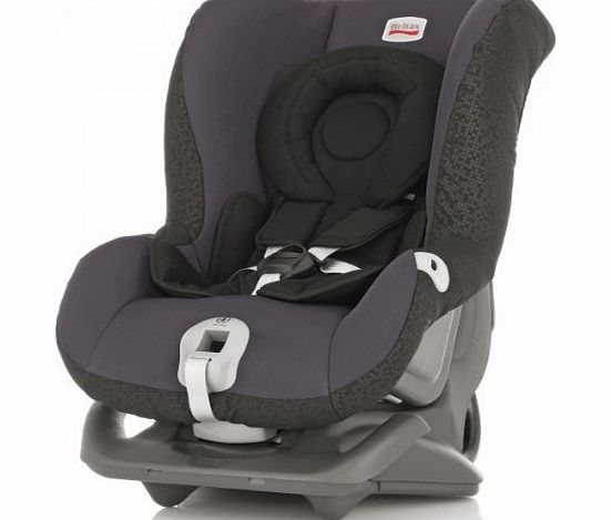 First Class Plus Group 0+&1 Birth - 4 Years Rearward and Forward Facing Car Seat (Black Thunder)