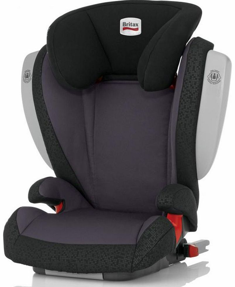 Kidfix SICT Car Seat Black Thunder
