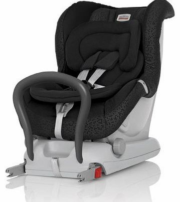 MAX-FIX II Group 0 Plus 1 Birth to 18 Kg Rearfacing Isofix Car Seat (Black Thunder)