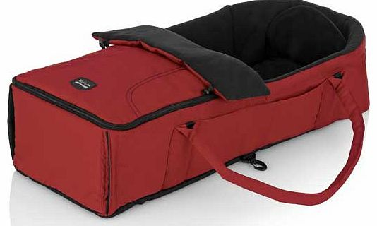 Soft Carry Cot - Chilli Pepper