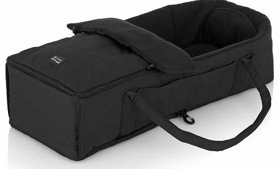 Soft Carry Cot - Neon Black