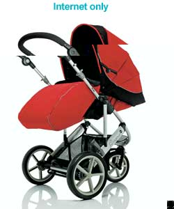 Vigour 3+ Stroller - Mars Red