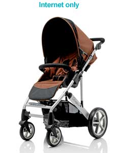 Vigour 4+ Stroller - Coffee
