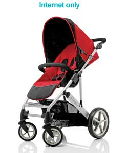 Vigour 4+ Stroller - Mars Red
