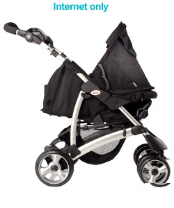 Voyager Java Stroller and Soft Carrycot