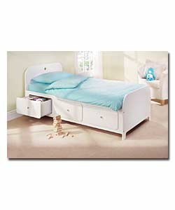 Single Bed with Pillow Top Mattress