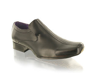 Leather Look Formal Shoe