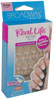 broadway real life petite nail kit 24 peach square shape nails