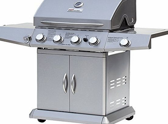 broil-master® broil-master BBQ Gas Grill with Practical Warming Rack