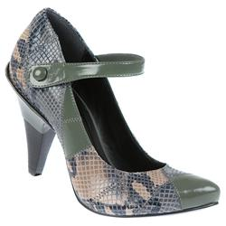 Female Abrasivato Snake C3 Leather Upper Leather/Other Lining in Grey Mix