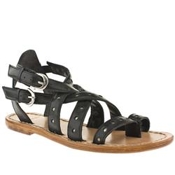 Female Bronx Amos Leather Upper in Black