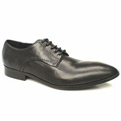 Male Bronx Ridley Gibson Leather Upper in Black