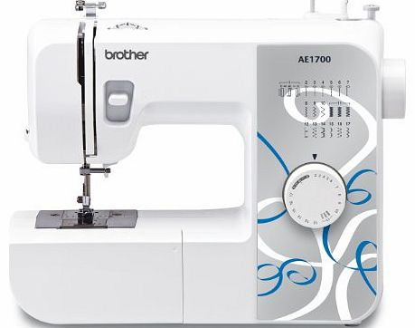 AE1700 Sewing Machine with Instructional DVD, 17 Stitch