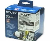 DK-22212 - Labels - white - Roll 6.2 cm
