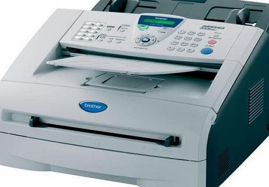 Brother laser FAX-2920 A4 mono Fax Machine - Auto Reduction - Automatic Redial - Broadacsting - Dual Access - Remote Access - 250 Sheet Input Tray - 20 Sheet ADF - 200 speed dials