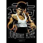Bruce Lee Clenched Fist Textile Poster