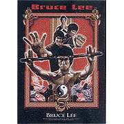 Bruce Lee Dragons Fury Textile Poster