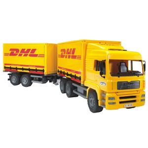 MAN Truck Inter Change DHL and Trailer